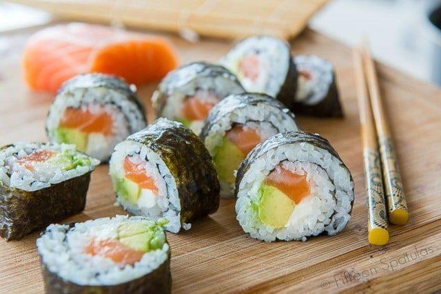 Recette facile pour faire des sushis fait maison - Culinaireries